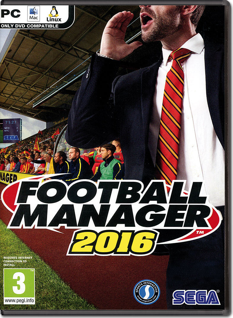 Football Manager 2016 Download Free PC + Online Crack