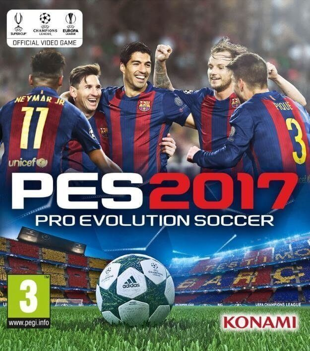 PES 2017 Download Free PC Torrent + Crack