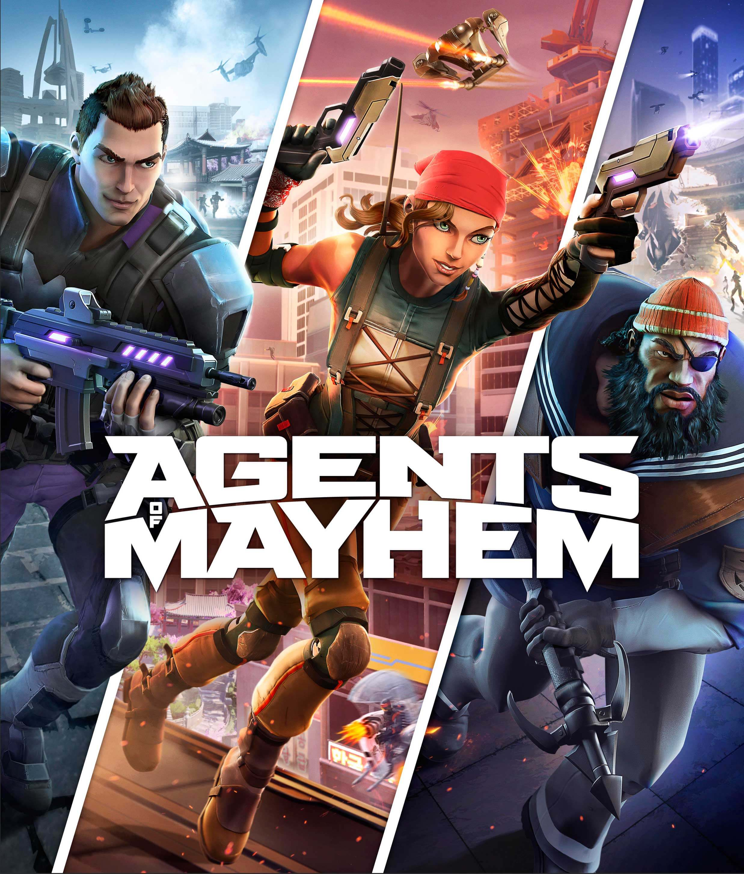 Agents of Mayhem Download Free PC + Crack