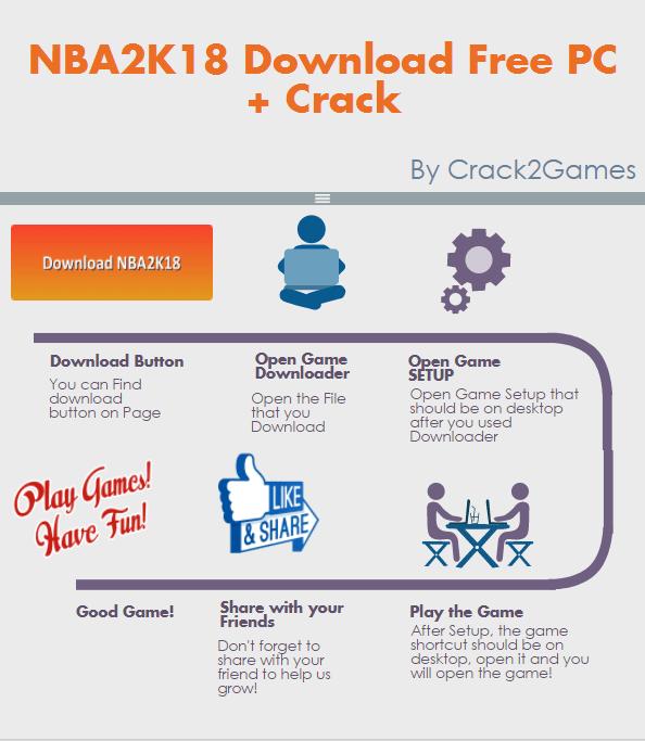 NBA2K18 download crack free