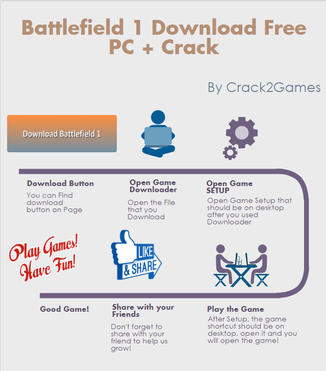 Battlefield 1 download crack free