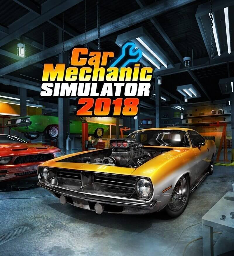 Car Mechanic Simulator 2018 Download Free PC + Crack
