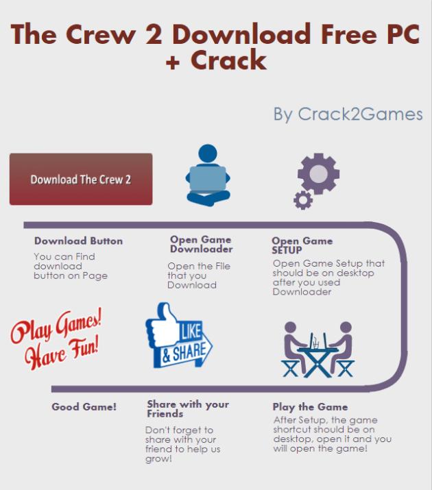 the crew 2 download free pc crack crack2games. Black Bedroom Furniture Sets. Home Design Ideas