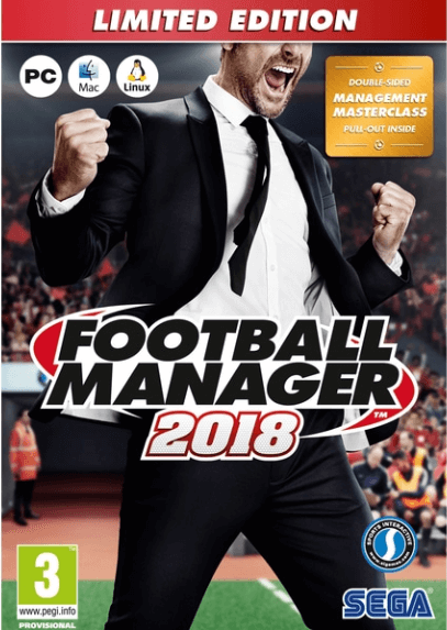 Football Manager 2018 Download Free PC + Crack