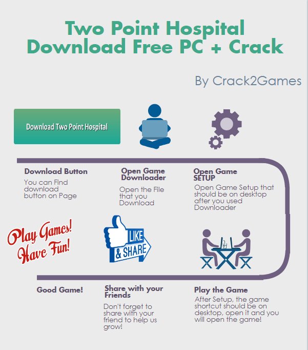 Two Point Hospital download crack free