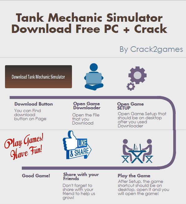 Tank Mechanic Simulator download crack free