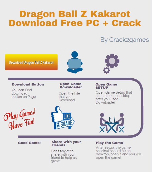 Dragon Ball Z Kakarot download crack free