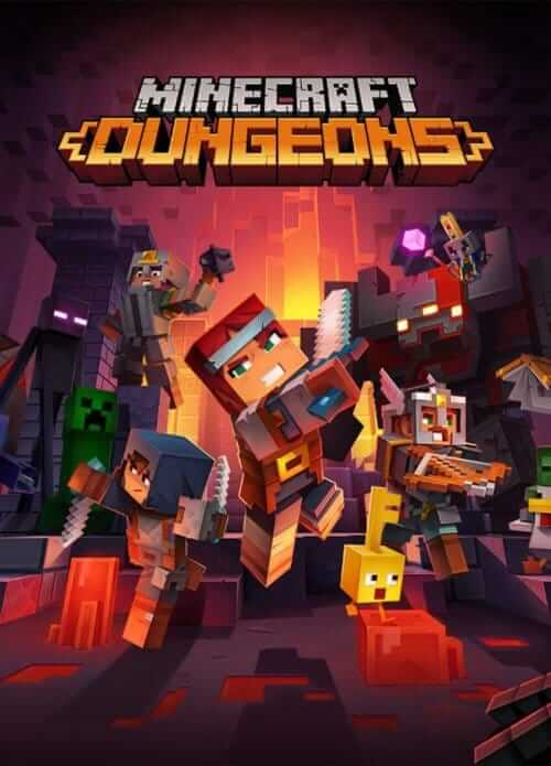 Minecraft Dungeons Download Free PC + Crack