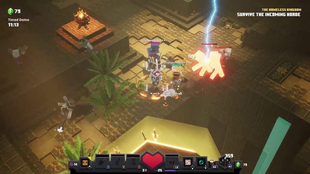Minecraft Dungeons download free