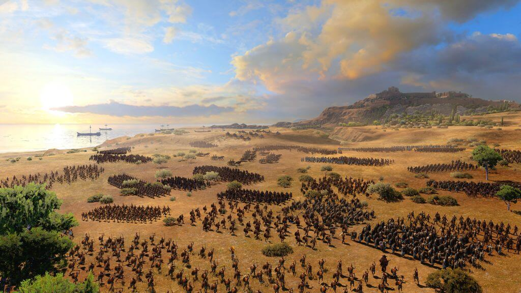 Total War Saga Troy download free