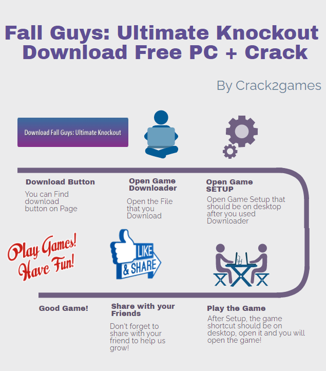 Fall Guys Ultimate Knockout download crack free