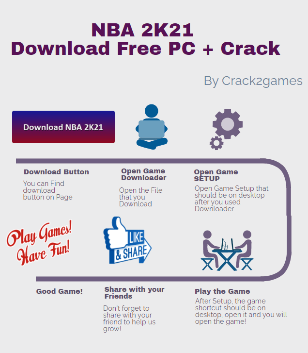 NBA 2K21 download crack free