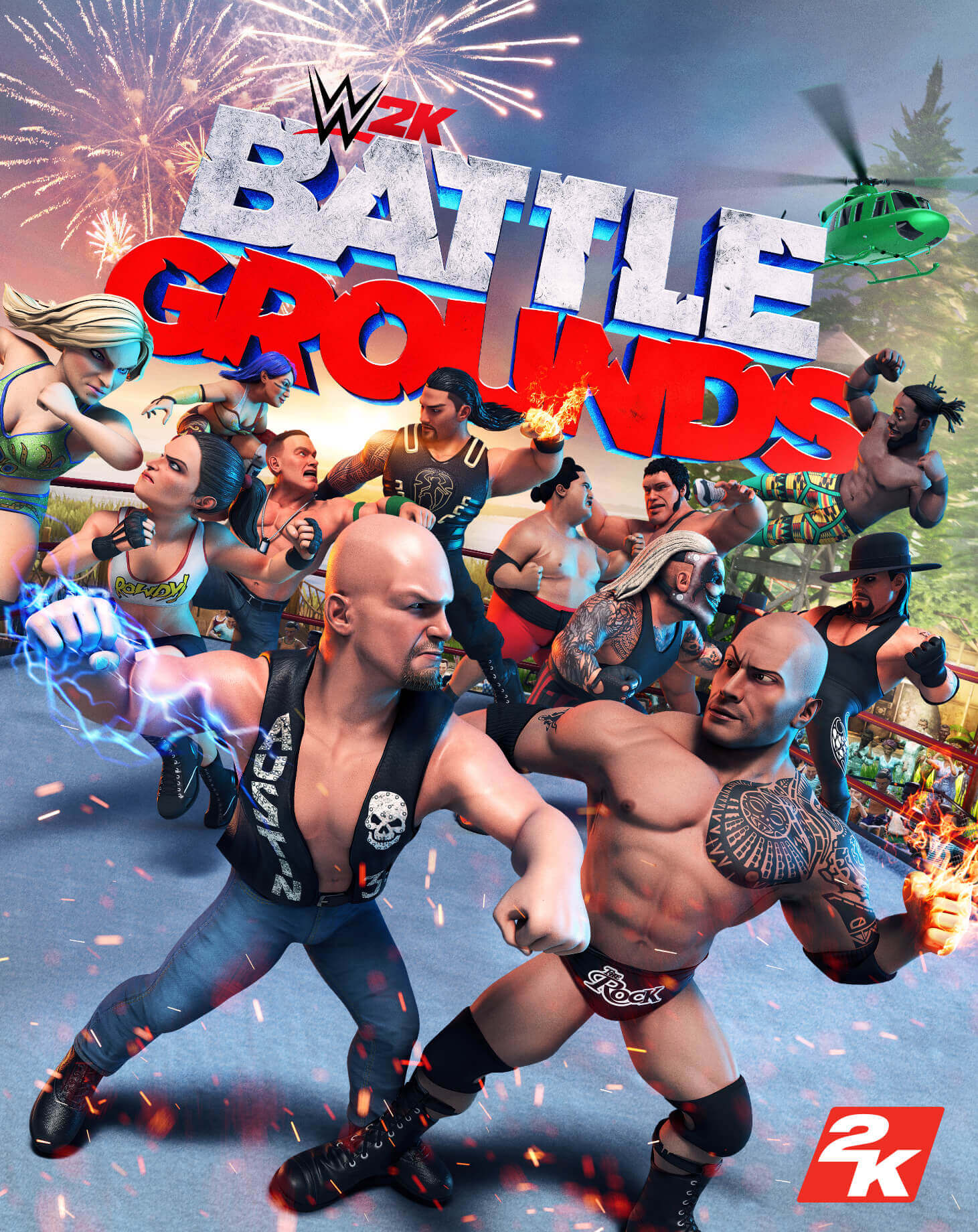 WWE 2K BattlegroundsDownload Free PC + Crack