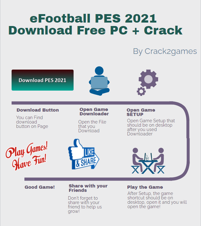 eFootball PES 2021 download crack free