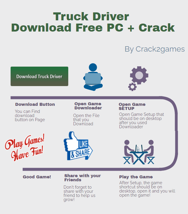 Truck Driver download crack free