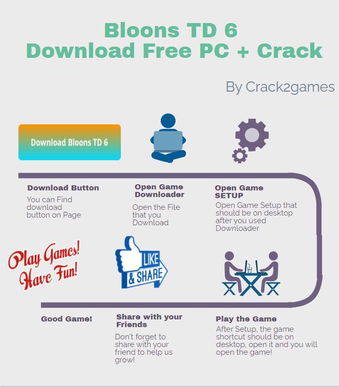 Bloons TD 6 download crack free