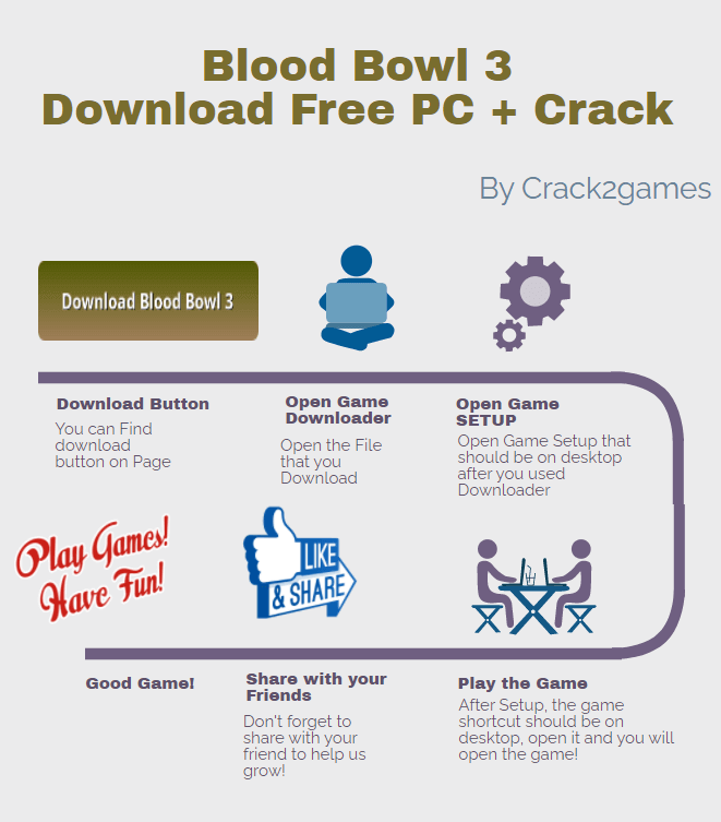 Blood Bowl 3 download crack free