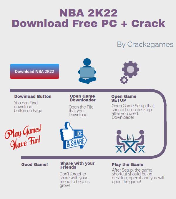 NBA 2K22 download crack free
